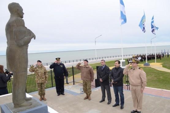 Se recordó un nuevo aniversario del fallecimiento del Capitán de Fragata Carlos María Moyano