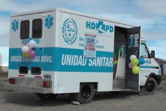 Continúa Campaña de vacunación con el Móvil Sanitario