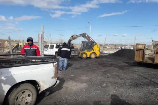 Llegó nueva carga de carbón