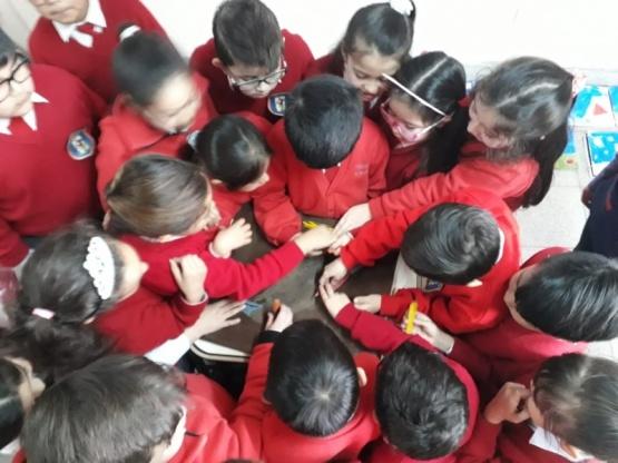 Los chicos aprenden la importancia del Macá Tobiano