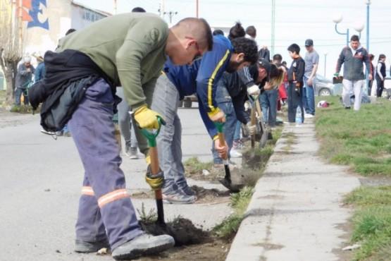 El próximo operativo de limpieza será en los barrios 240 y 160 Viviendas
