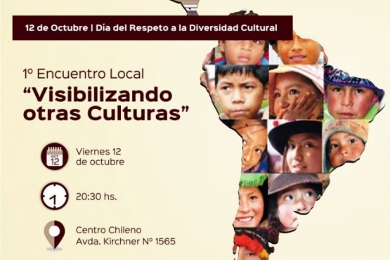 Encuentro para conmemorar el Día del Respeto a la Diversidad Cultural