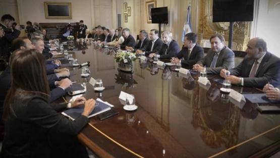 El Gobierno envió a Diputados el acuerdo fiscal con las provincias