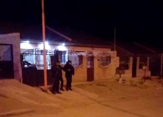 Sigue el enfrentamiento en la ciudad del Gorosito.