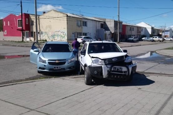 Dos lesionados tras una colisión