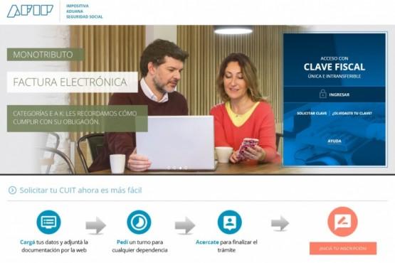 Se puede gestionar la CUIT en forma digital