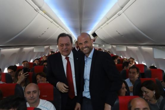 Aerólinea low cost europea inició sus vuelos de cabotaje en el país