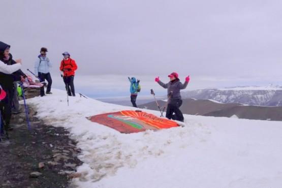 Grupo de trekking viajó a El Calafate y ascendió al Cerro Cristal