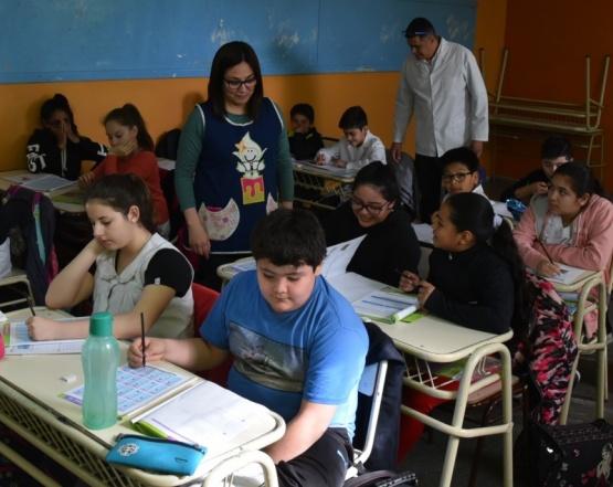"""Por el operativo """"Aprender"""" evaluaron a casi mil alumnos en Caleta Olivia"""