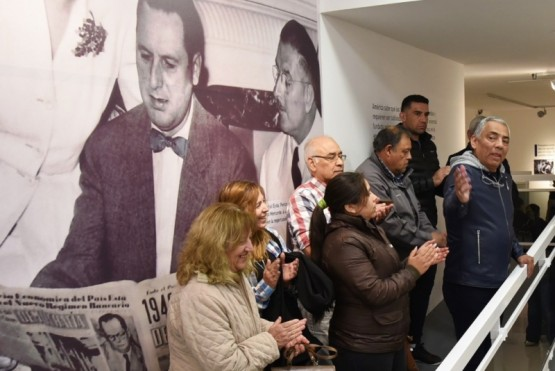 Soloaga instó a luchar por la solidaridad y contra el FMI