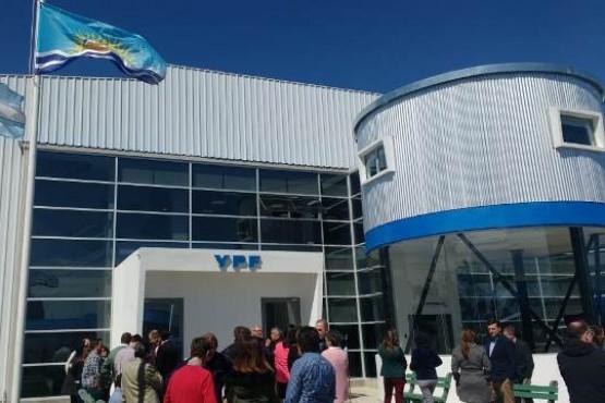 Inauguraron nueva sede de YPF en Las Heras