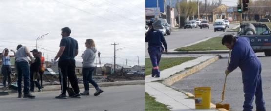 """IDUV y Municipio volvieron a """"disputarse"""" la limpieza en las calles"""