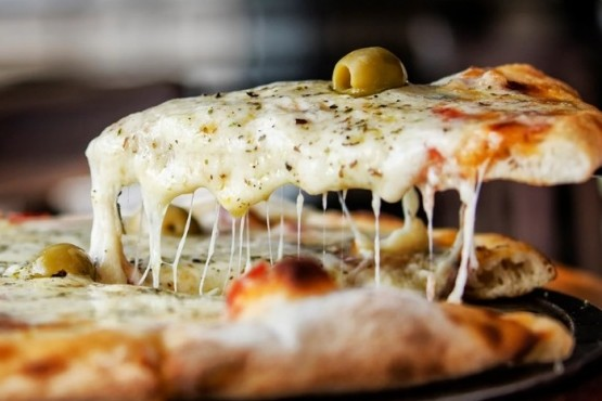 Cenó pizza todos los días durante los últimos 37 años