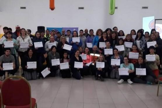 Protección Civil realizó capacitaciones a personal municipal de Puerto Santa Cruz