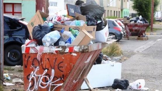 Piden a los vecinos no sacar la basura por el paro