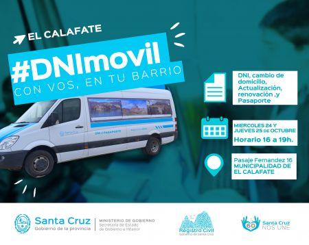 El #DNIMovil se trasladó a Calafate