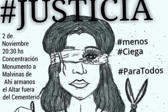 """La marcha que pedirá una """"justicia menos ciega"""" y que nació en las redes sociales"""