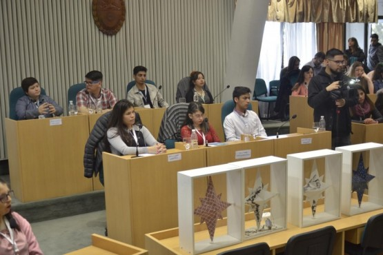 Parlamento Juvenil del Mercosur sesionó en la Cámara de Diputados