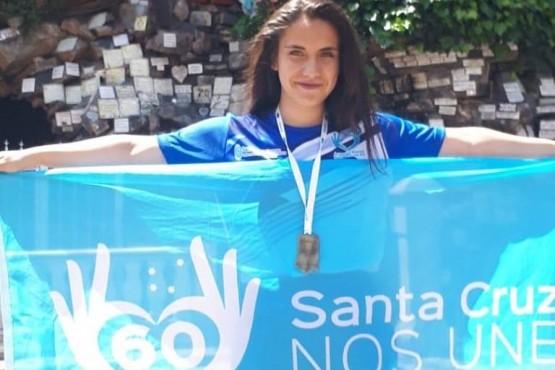 Micaela se colgó la medalla más preciada - representante en taekwondo