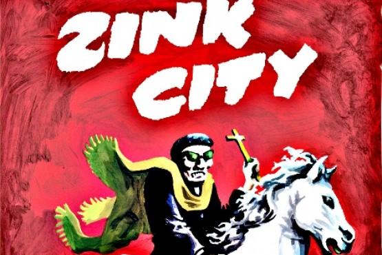 """El Padre Zink con """"una mezcla de Clint Eastwood""""."""