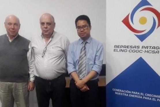 Giubetich se reunió con integrantes de Represas Patagonia