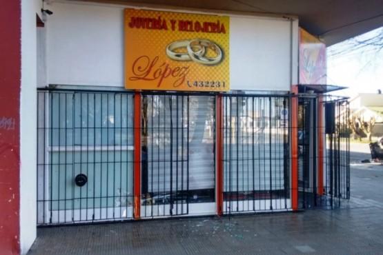Detuvieron al sospechoso del robo a la Joyería López