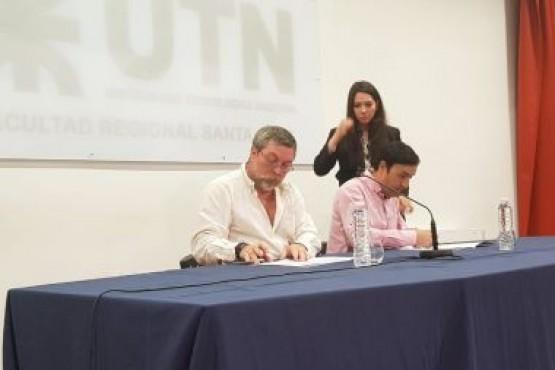 Convenio para pasantías entre IDUV y UTN