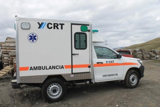 Nueva ambulancia equipada con alta tecnología para evacuar emergencias médicas