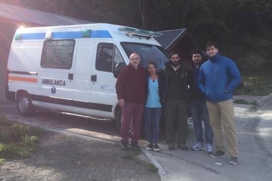El SAMIC retomó la cobertura sanitaria en el Glaciar Perito Moreno