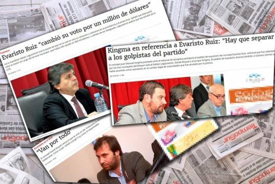 Piden la expulsión de Kingma, Roquel y Leguizamón por sus dichos a TiempoSur