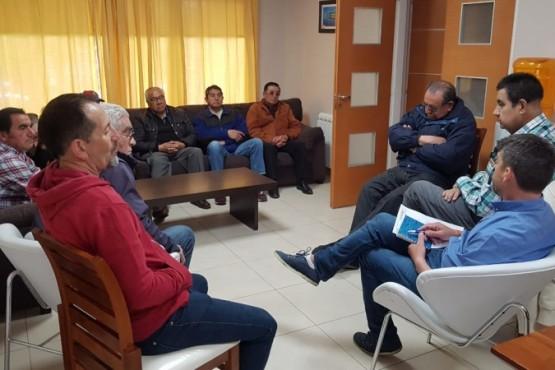El Interventor se reunió con jubilados y la Intersindical