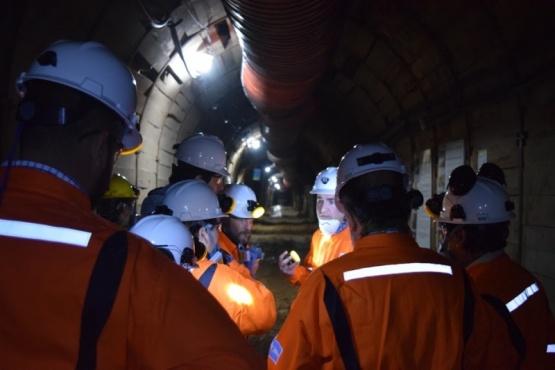 En la mina se emplean a 33 personas.