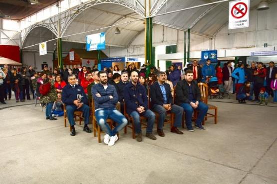 El acto se realizó en la Sociedad Rural en la tarde de ayer. (Foto: C.R.)