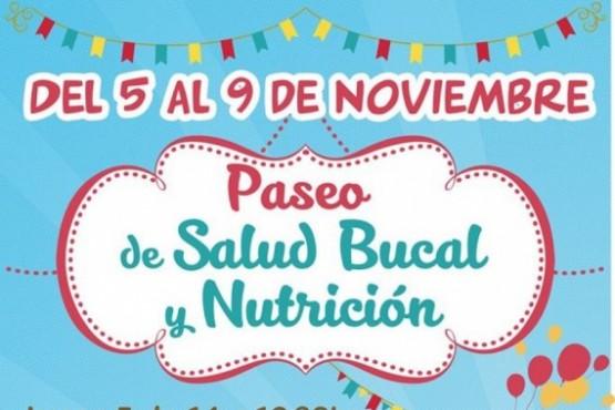 Comienza el Paseo de Salud Bucal y Nutrición