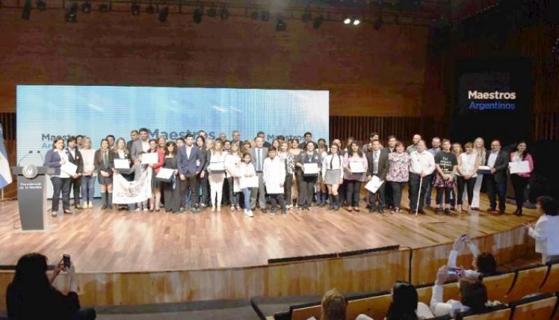 El premio se entregó en el Centro Cultural Kirchner