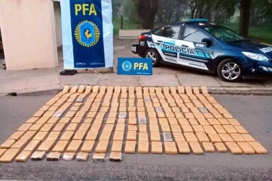 La Pampa: secuestran droga que se presume que tenía como destino Santa Cruz