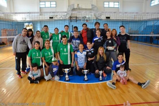 Colón se quedó con el sexto torneo de vóley mixto