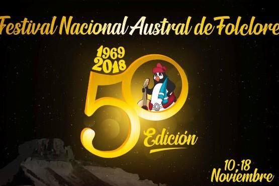 Pico Truncado festeja 50 ediciones del Festival Nacional Austral del Folklore