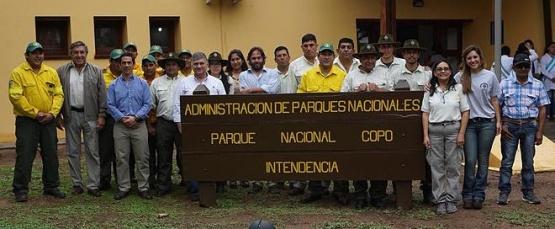 Celebración del Día de los Parques Nacionales en Copo