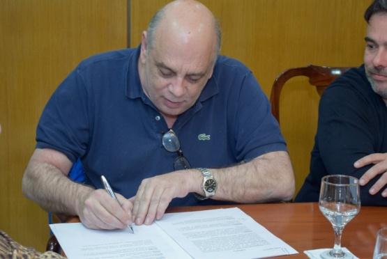 Giubetich destacó la importancia del acuerdo con Provincia