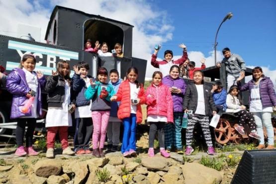 Alumnos de la EPP N°67 visitaron la Escuela Minera
