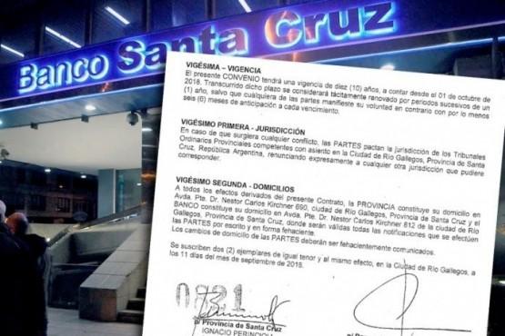 La Legislatura ratificaría hoy el acuerdo entre la Provincia y el Banco Santa Cruz