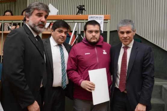 Reconocieron a Yannick López como árbitro de Juegos Olímpicos