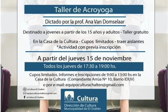 Nuevos talleres en la Casa de la Cultura