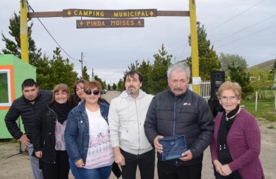 Homenajearon a Moisés Pinda en el marco del día del empleado municipal
