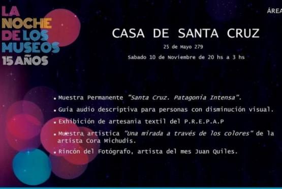Santa Cruz en la Noche de los Museos