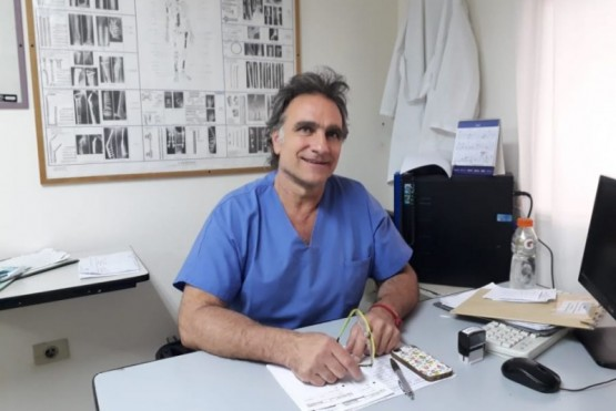 50 pacientes por día son atendidos espontáneamente en traumatología
