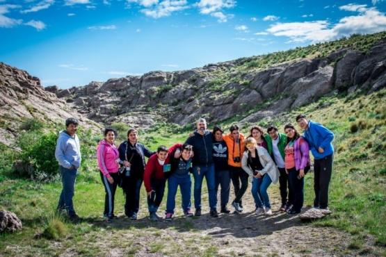 """Chicos del proyecto """"Moviéndose con el corazón"""" viajaron a Puerto Deseado"""