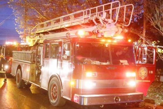 Incendian casa que fue allanada por