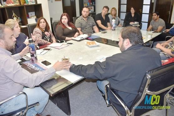 La reunión se realizó en la Municipalidad de la ciudad del Gorosito.